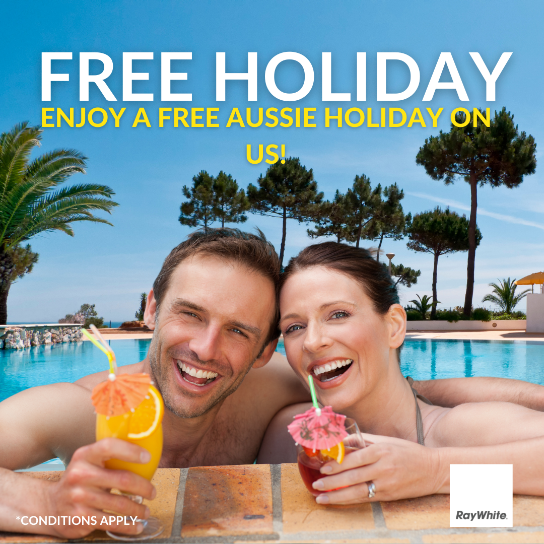 free holiday with ethan hyde real estate agent listing